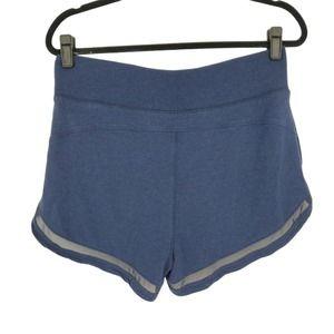 Athleta Breathe Shortie Blue Athletic Shorts M